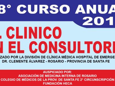 """XXVIII° Curso """"El clínico en el consultorio"""""""