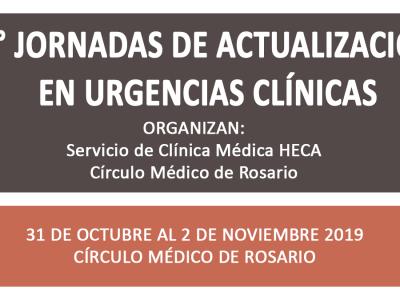 X° Jornada de Actualización en Urgencias Clínicas