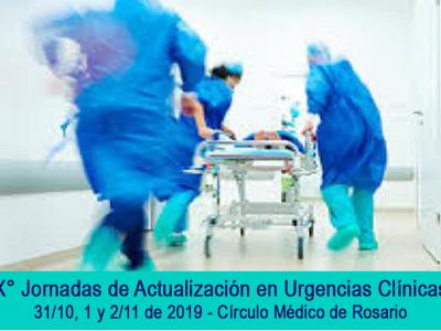 Temario de la Jornada de Actualización en Urgencias Clínicas