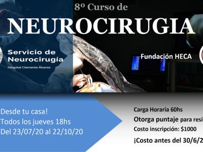 8° Curso de Neurocirugía – Modalidad virtual